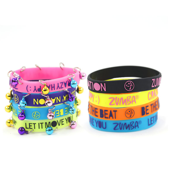 Bell Silicone Bracelets