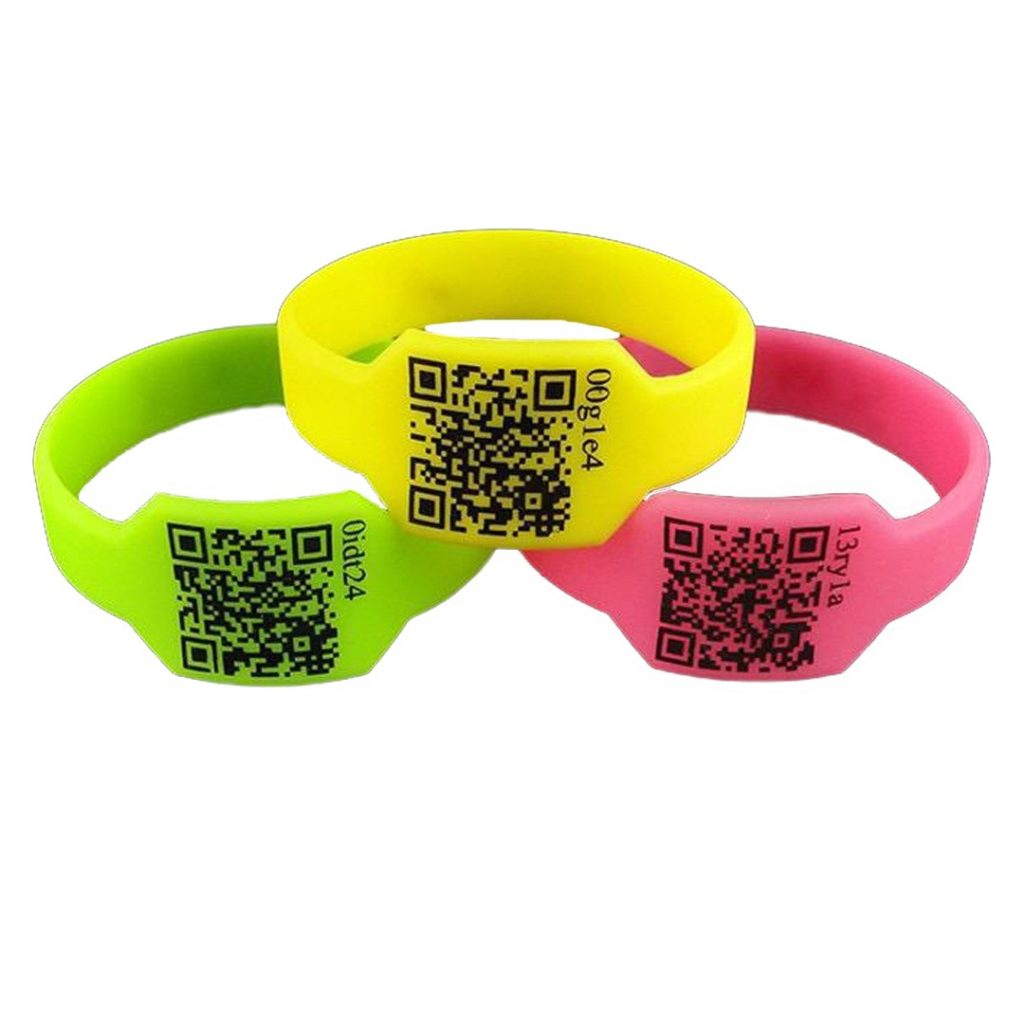 QR code Silicone Bracelets