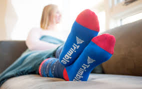 Cosy socks with your customised company logo