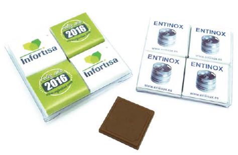Reklamní čokoládičky  - balení