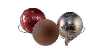 Reklamní čokoládičky jako vánoční ozdoba