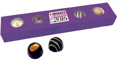 Reklamní čokoládičky v podobě pralinek