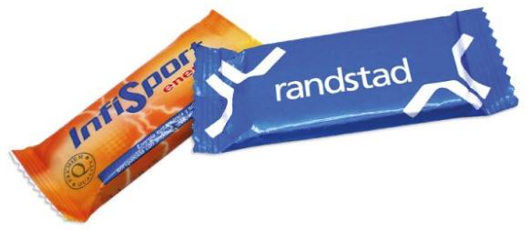 Reklamní energetická sušenka