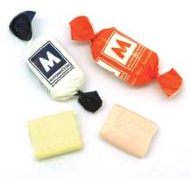Reklamní bonbóny žvýkací v twist fólii