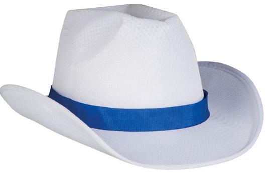 Reklamní klobouk polyester - styl: kovboj