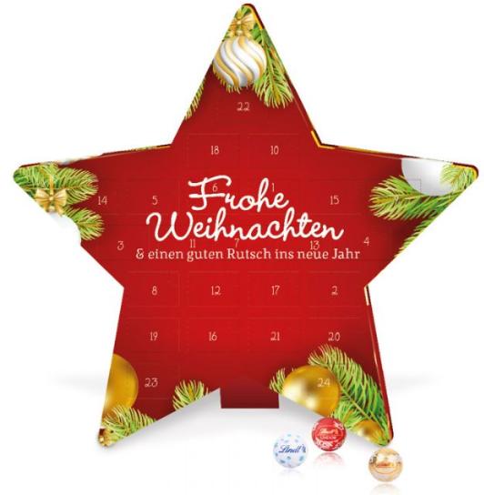 adventní kalendář - hvězda