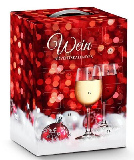 Adventní kalendář s vínem
