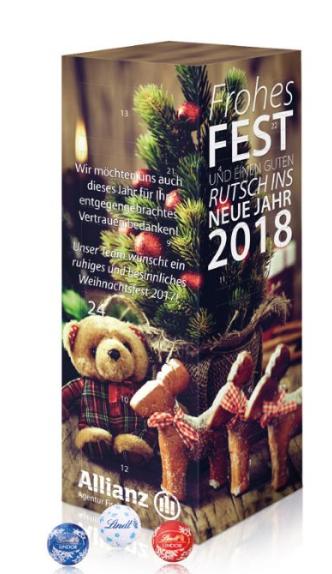 adventní kalendáře- věž