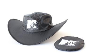 Skládací reklamní klobouk
