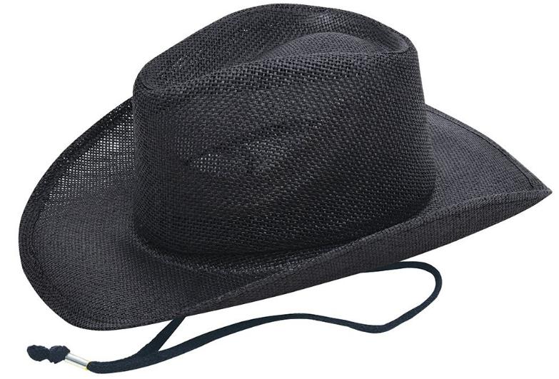 Reklamní klobouk slaměný - styl: kovboj