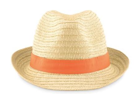 Klasický reklamní slaměný klobouk